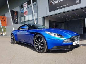 Aston Martin DB11 detailed at Perfct Polish