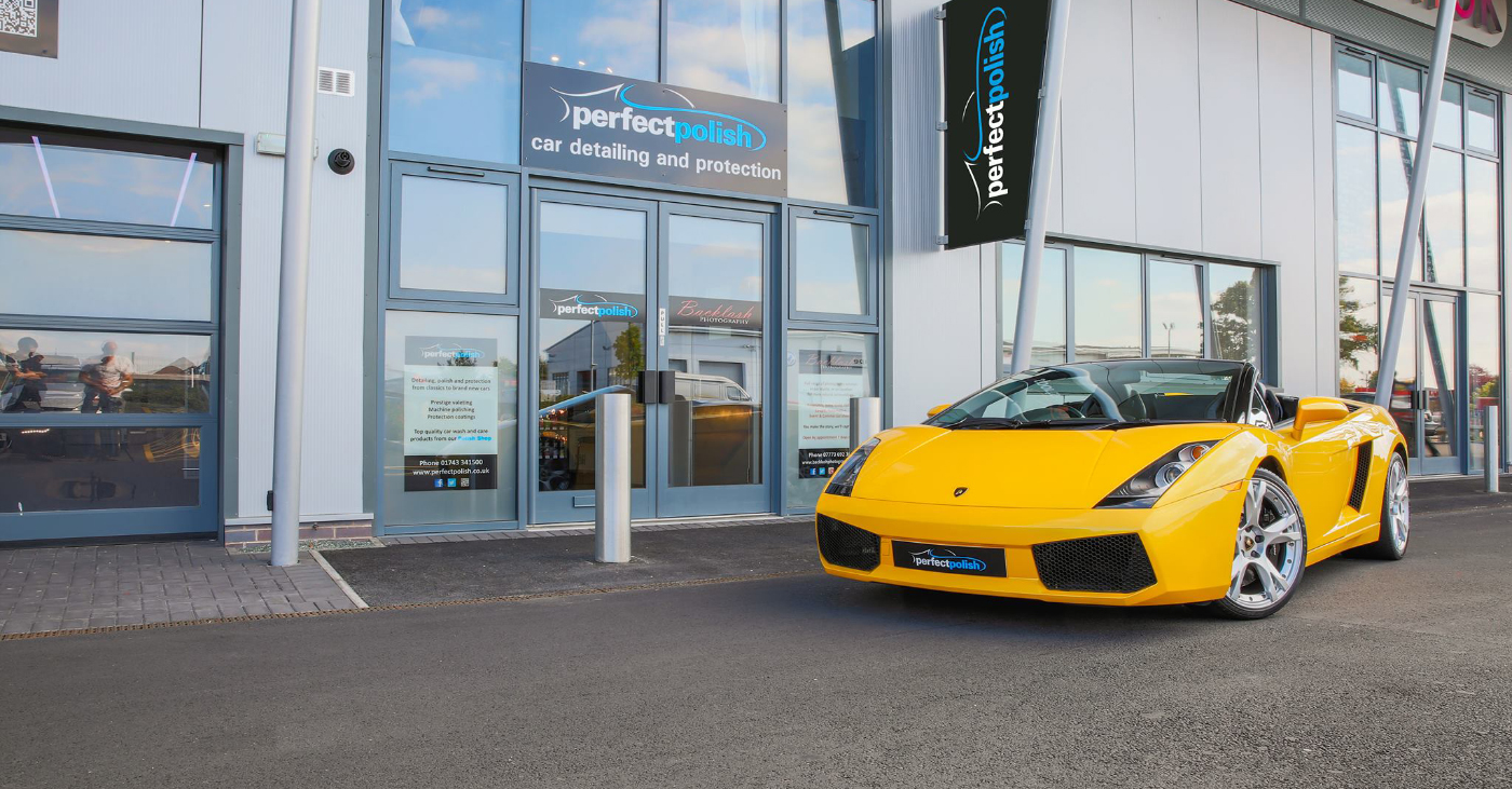 Lambo detailing in Shrewsbury