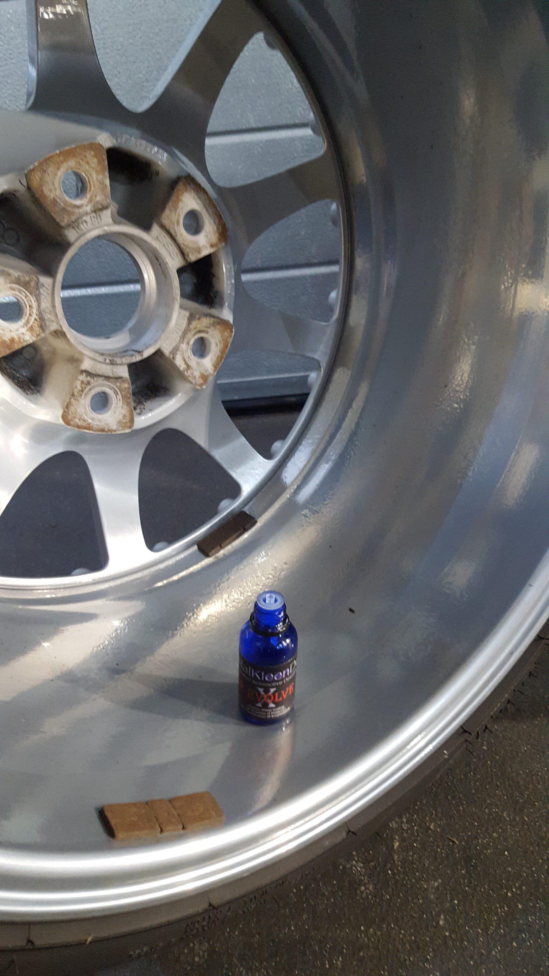 Wheel Removal Amp Coating Perfect Polish