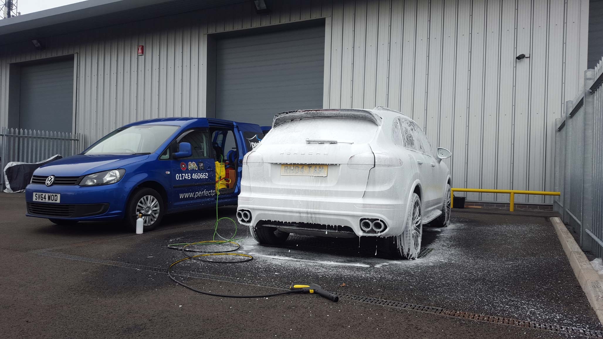 Mobile Valeting in Shropshire by Perfect Polish