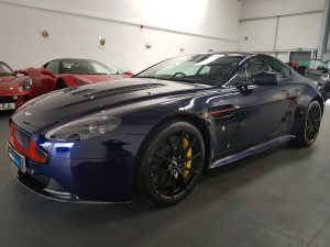 Aston Martin Red Bull edition detailing