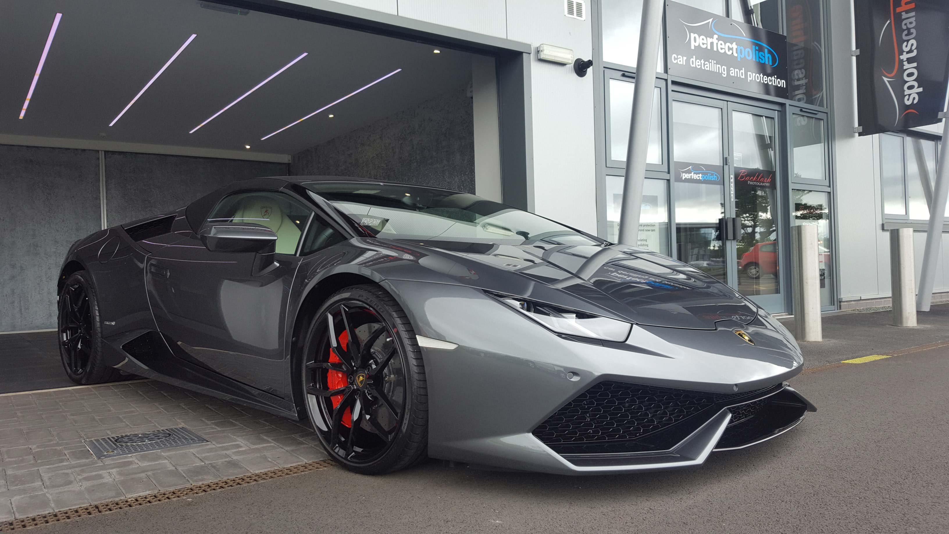 Lamborghini car detailing in Midlands - Perfect Polish